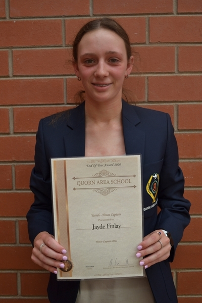 Yarrah House Captain - Jayde