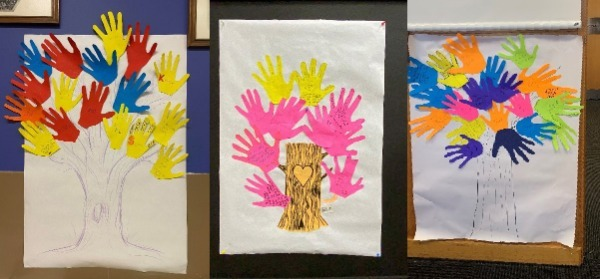 Tree of Hands - Support Group Activity