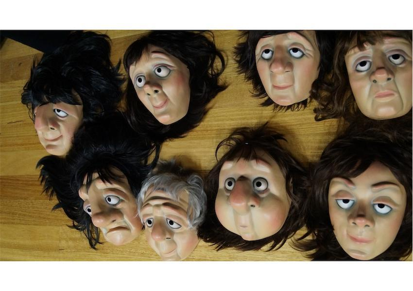 Homunculus workshop masks (1)