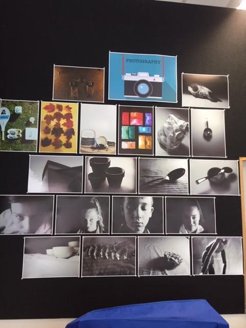Art room Photography display