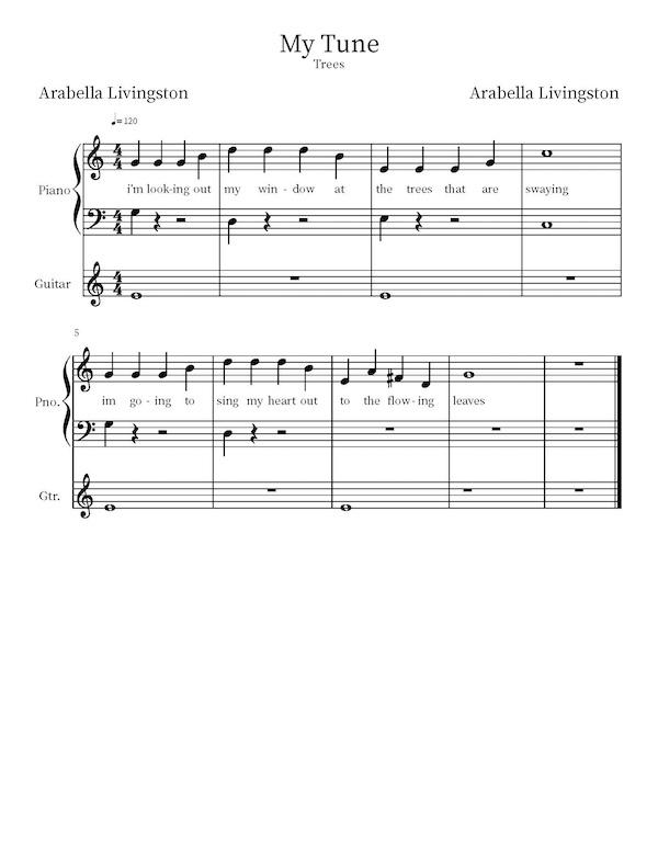 Arabella Livingston Composition