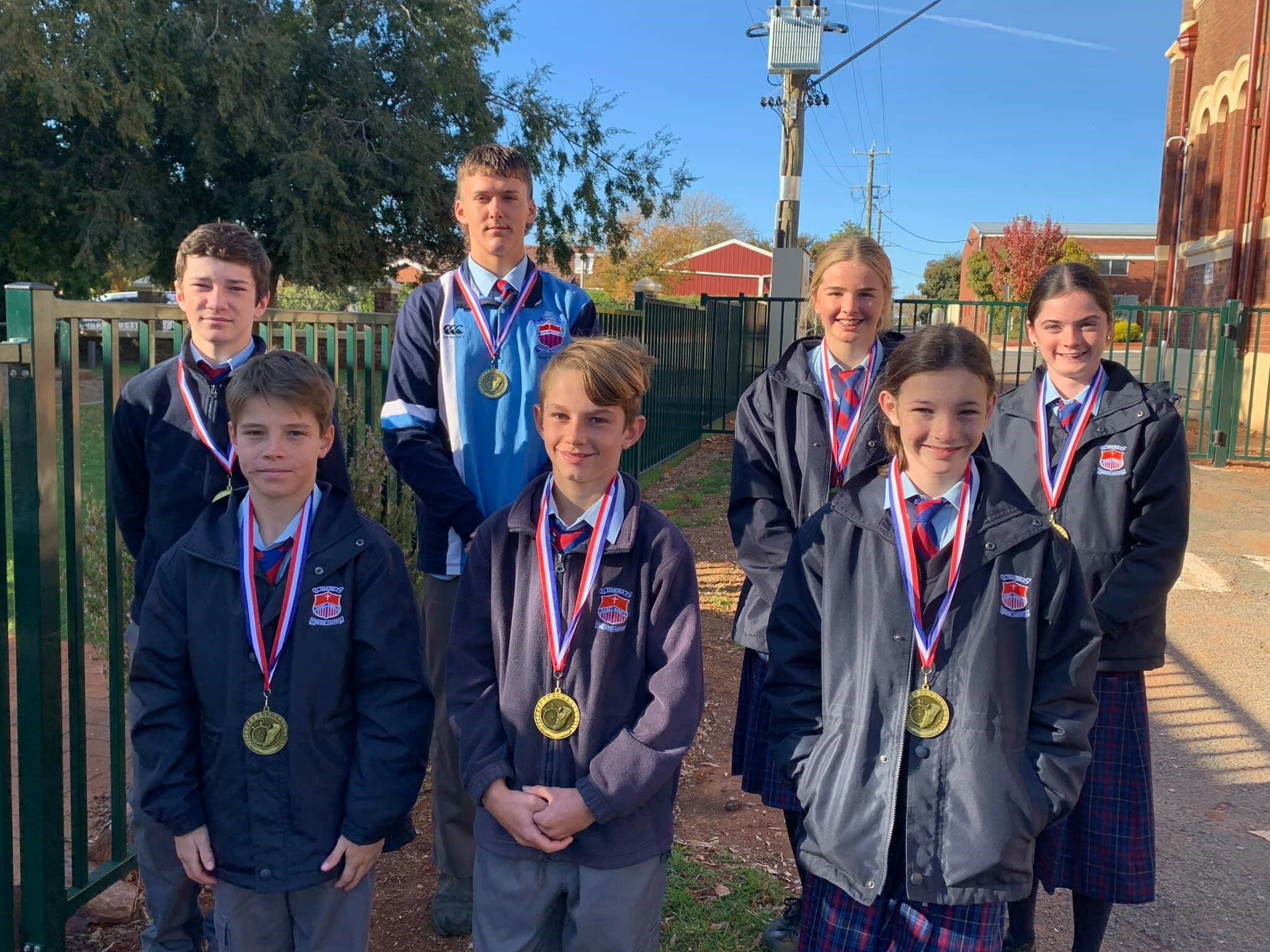 Secondary Athletics Champions