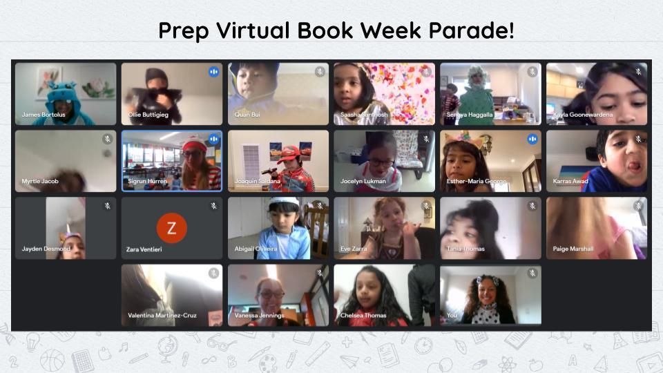 Prep Virtual Book Week Parade Photos