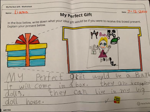 Yr1 Perfect gift