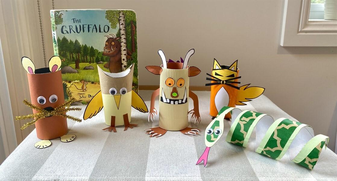 Bookweek Gruffalo family