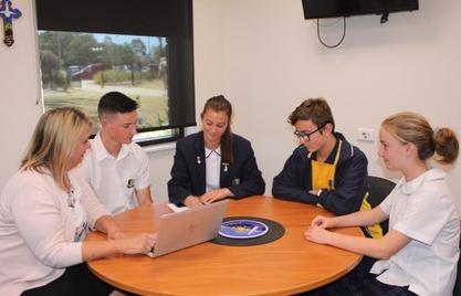 Mrs_Hogan_Principal_working_with_student_reps.jpg