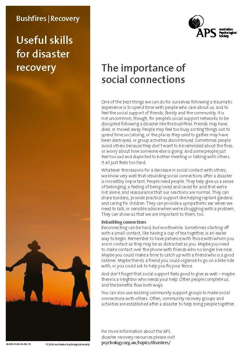 APS Bushfire-recovery-social-connections