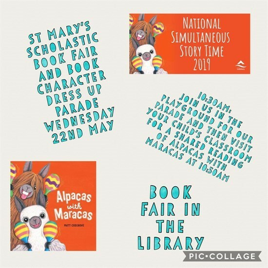 Simultaneous Story Time & Book Fair featured image
