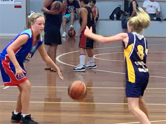 MacKillop BB - Claudie playing