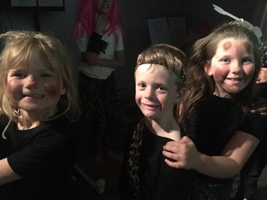 Backstage antics!