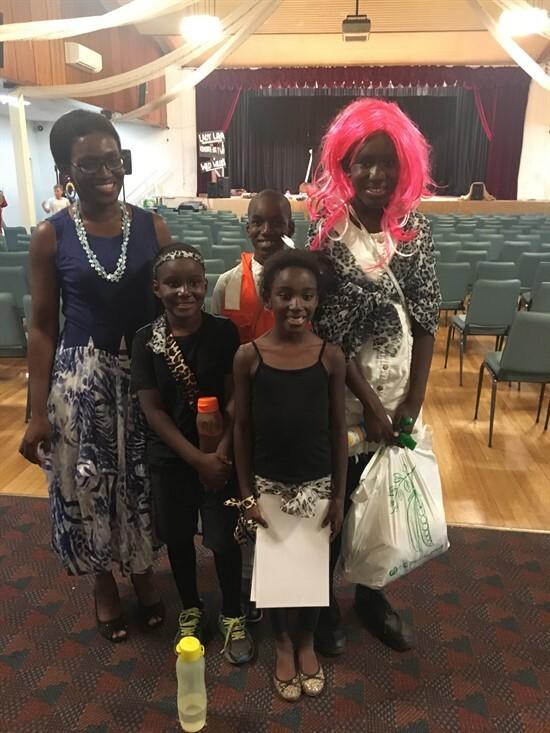 The Tachie-Menson family