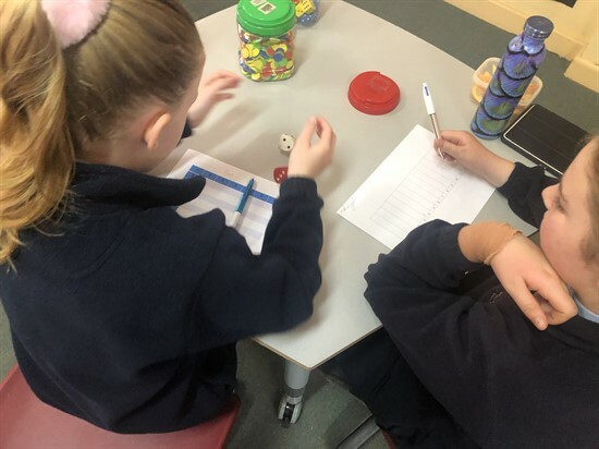 Year 5&6 using the strategies learnt during Maths PD (3)