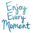 Enjoy every moment - blue