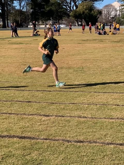 addie running