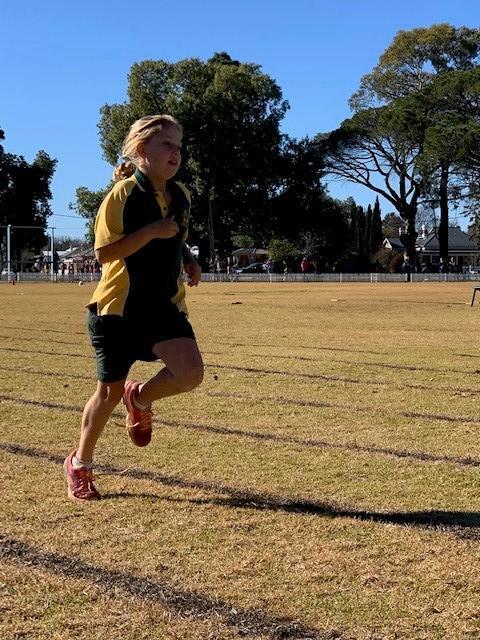 Ellie running
