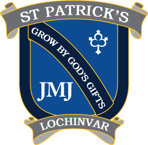 St Patricks school crest