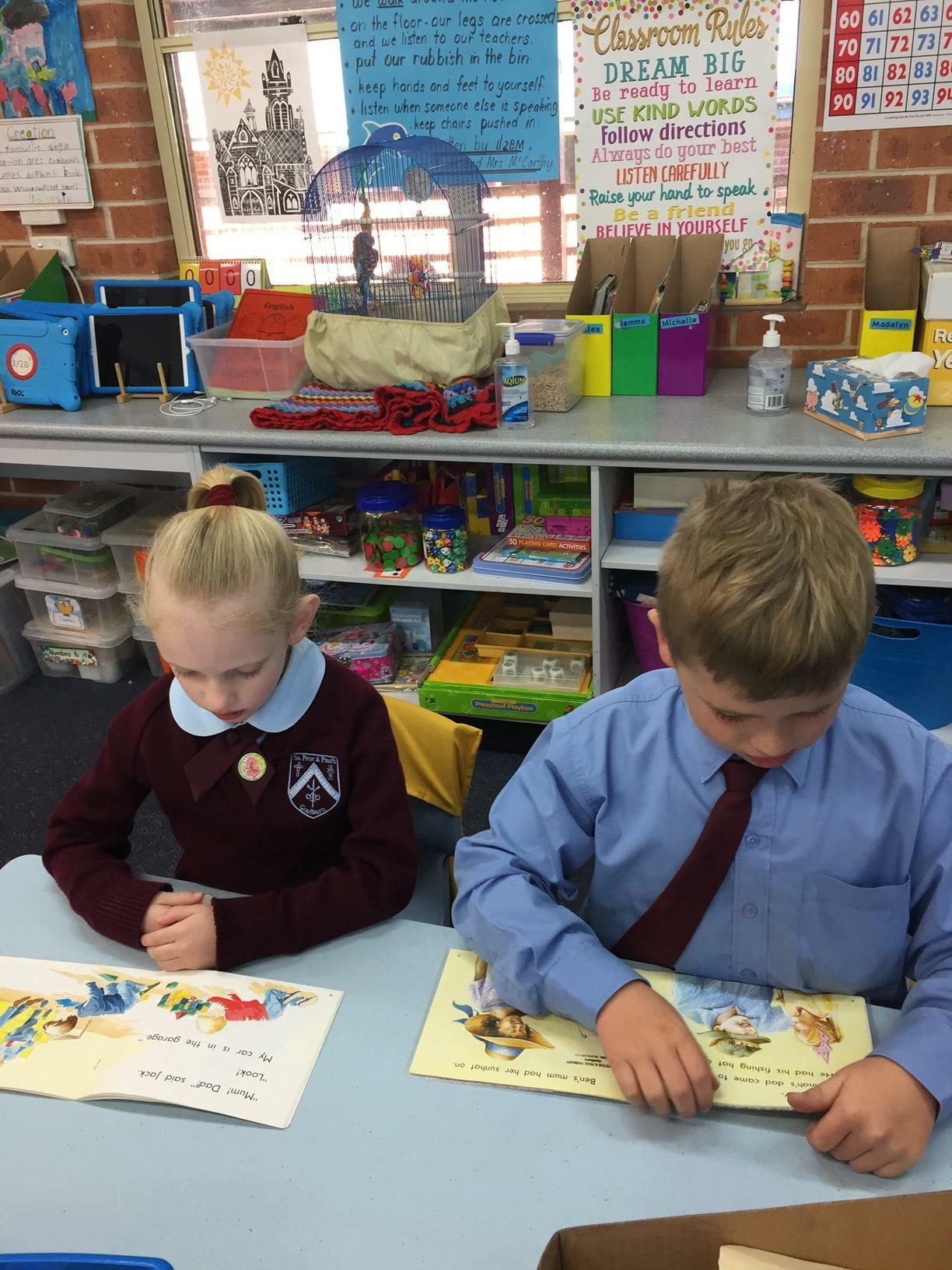More silent reading