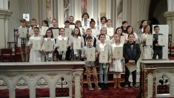 Year 4 Group Photo communion