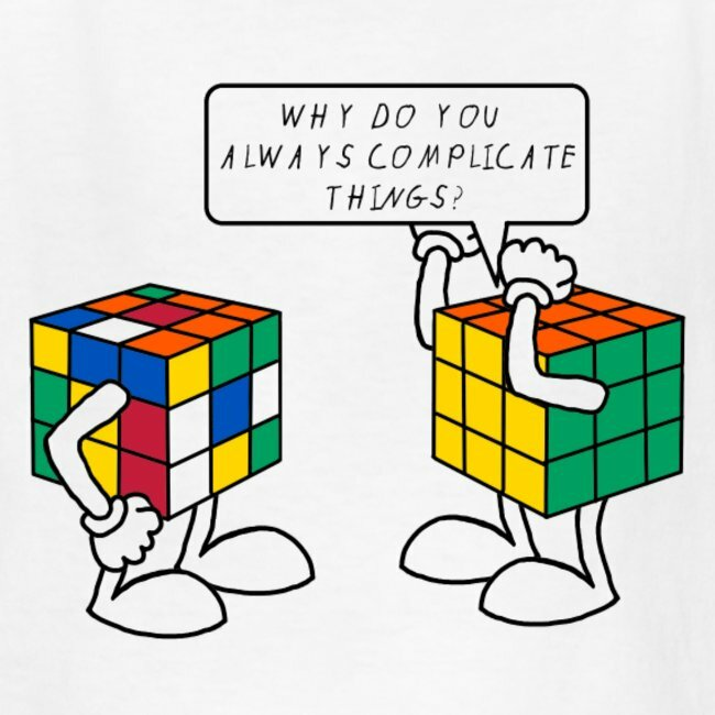 Complicate things Rubic Cube