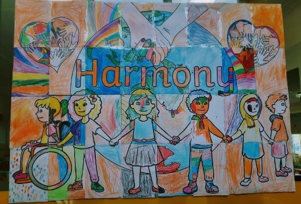 Harmony Day 1/2 collaboration