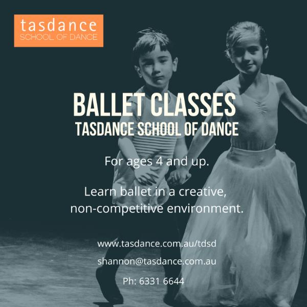 Ballet at Tasdance