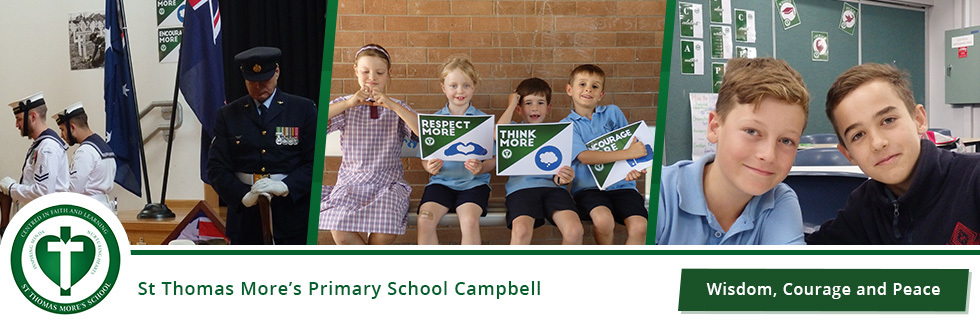 St Thomas More's Primary School Campbell