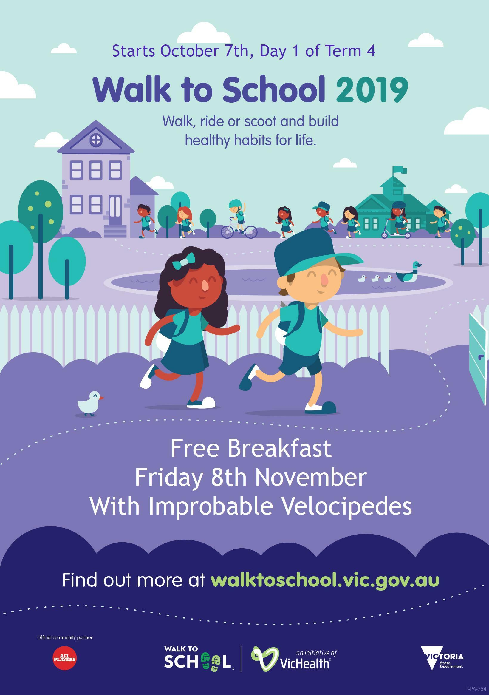 SCHOOL EVENT | Walk to School Celebration featured image